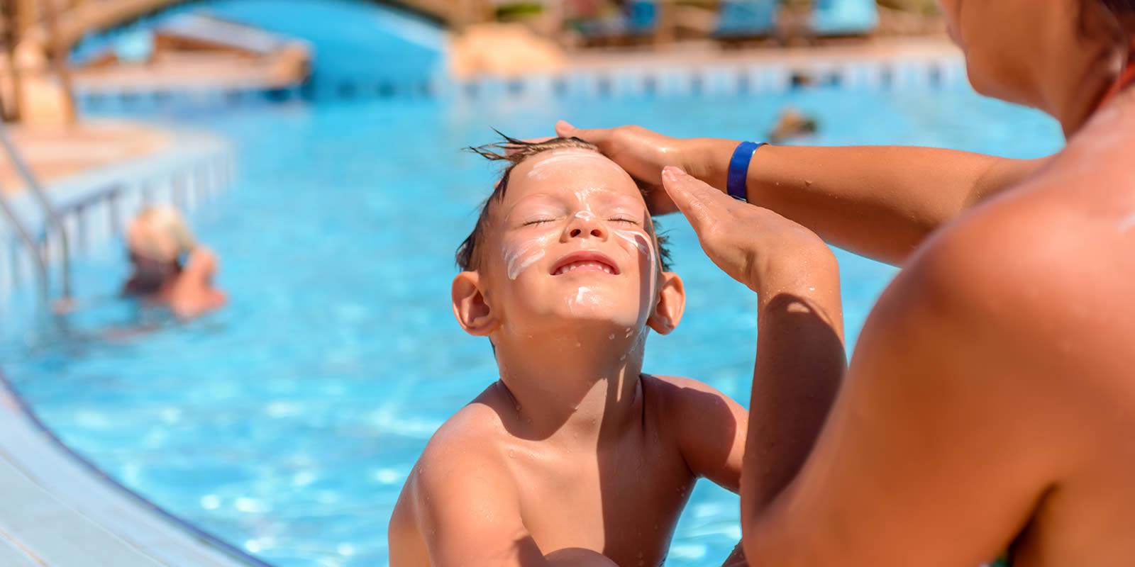 Mit Sonnencreme Lichtschutzfaktor 50 richtig braun werden