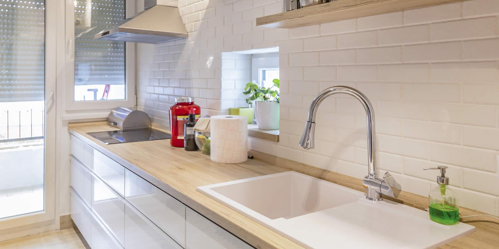 Kunststoff Spülbecken reinigen