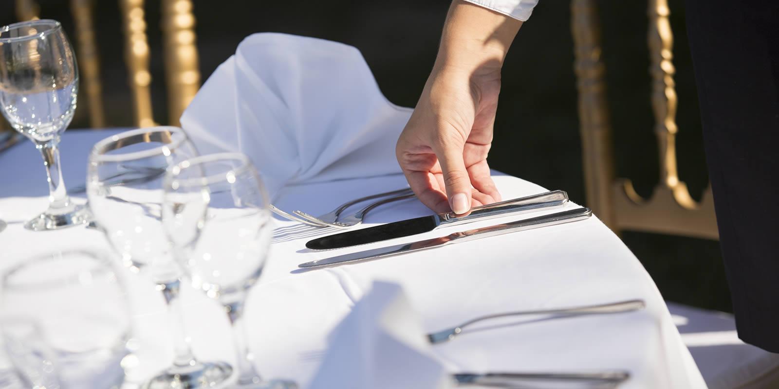 Tisch richtig decken lernen